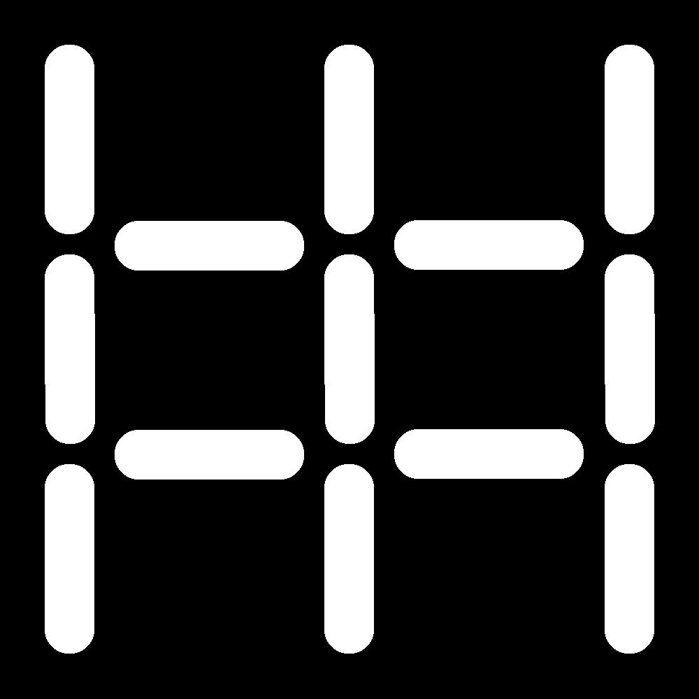 Back stitch trellis icon