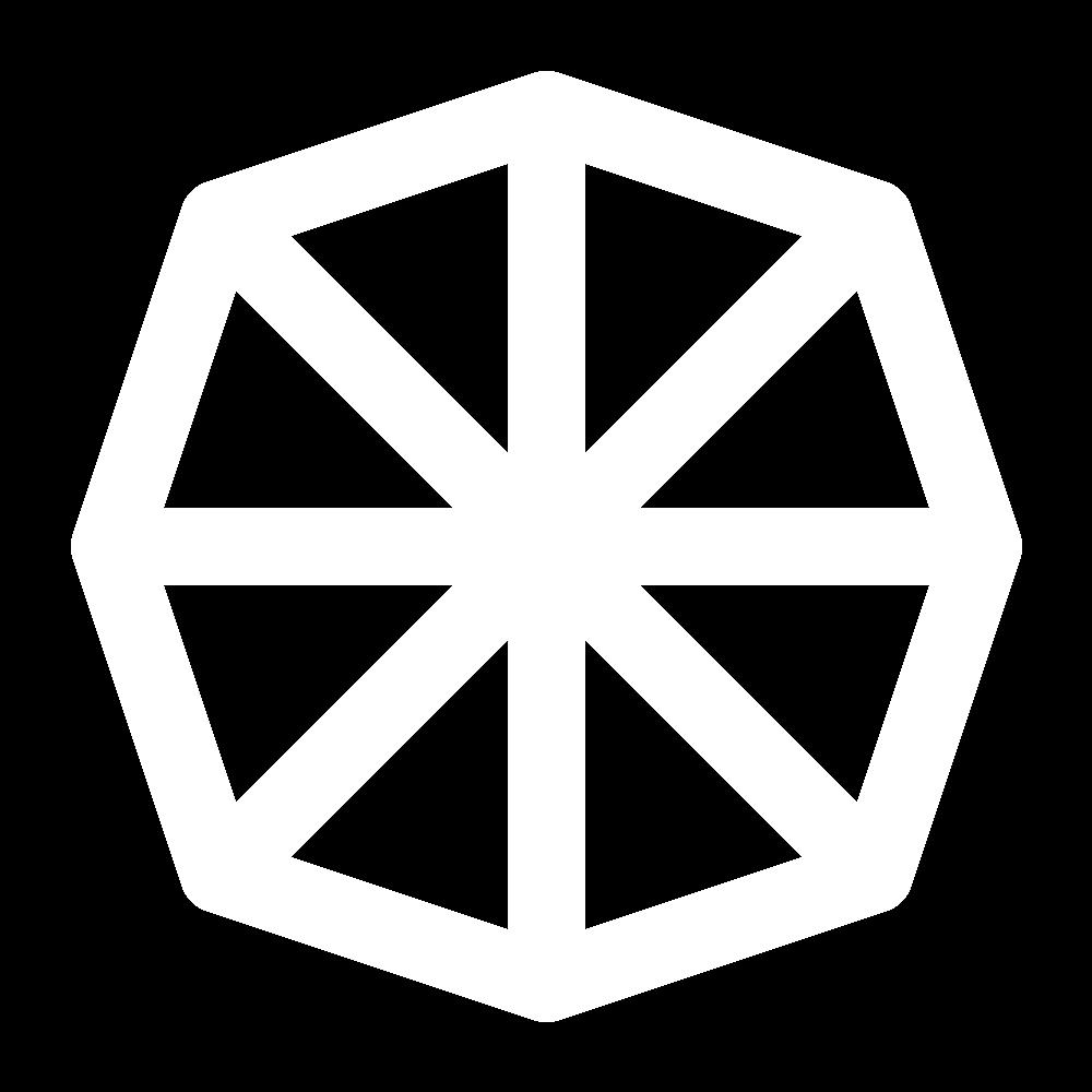 Barred buttonhole wheel icon