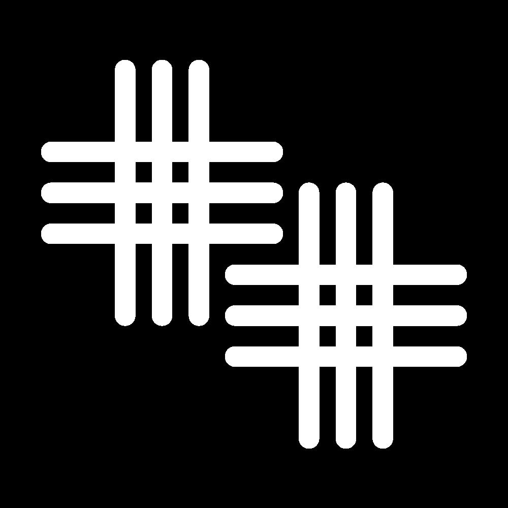 Broad cross stitch icon