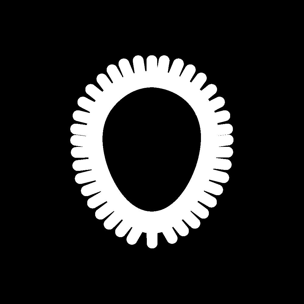 Buttonhole edging stitch variation icon
