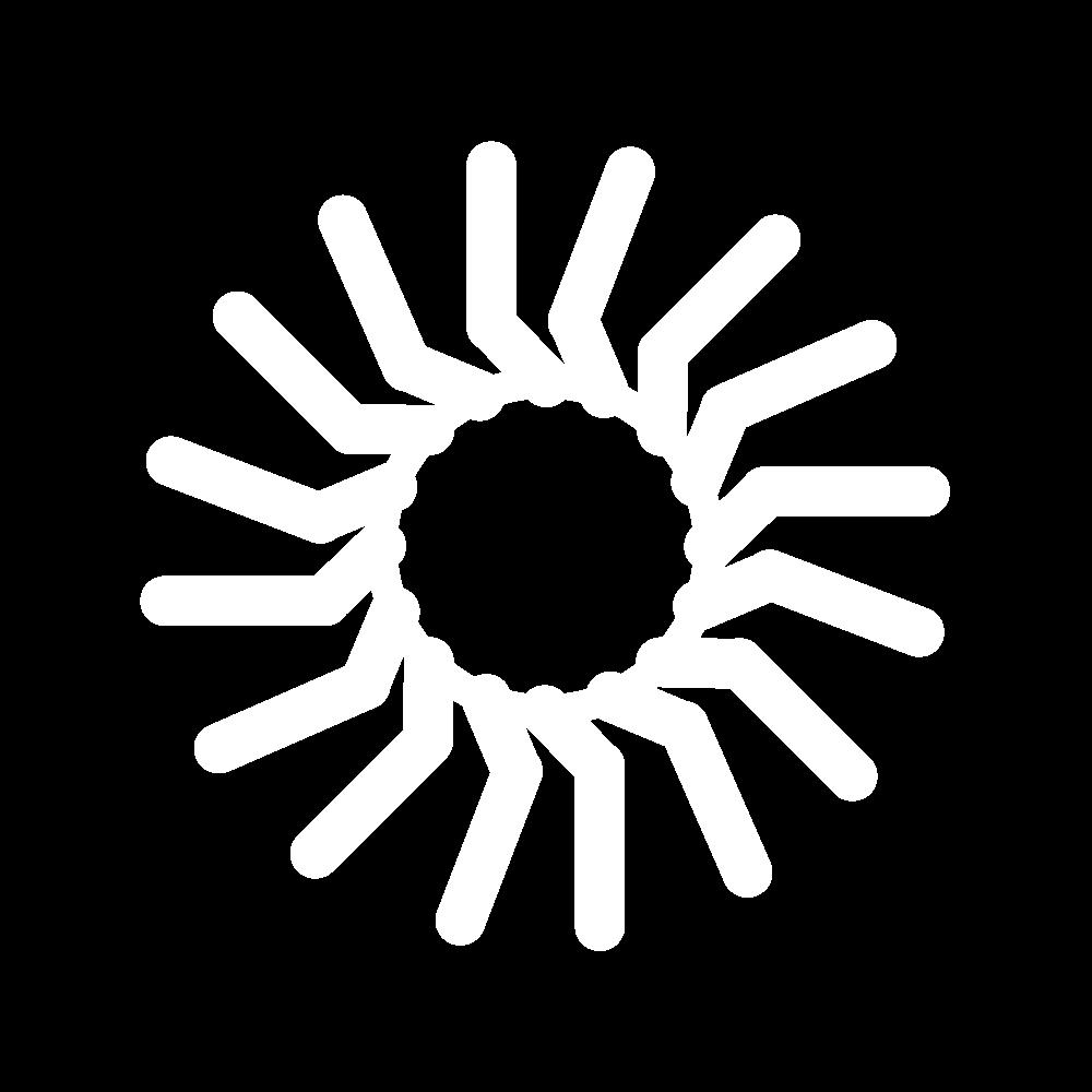 Buttonhole edging stitch icon