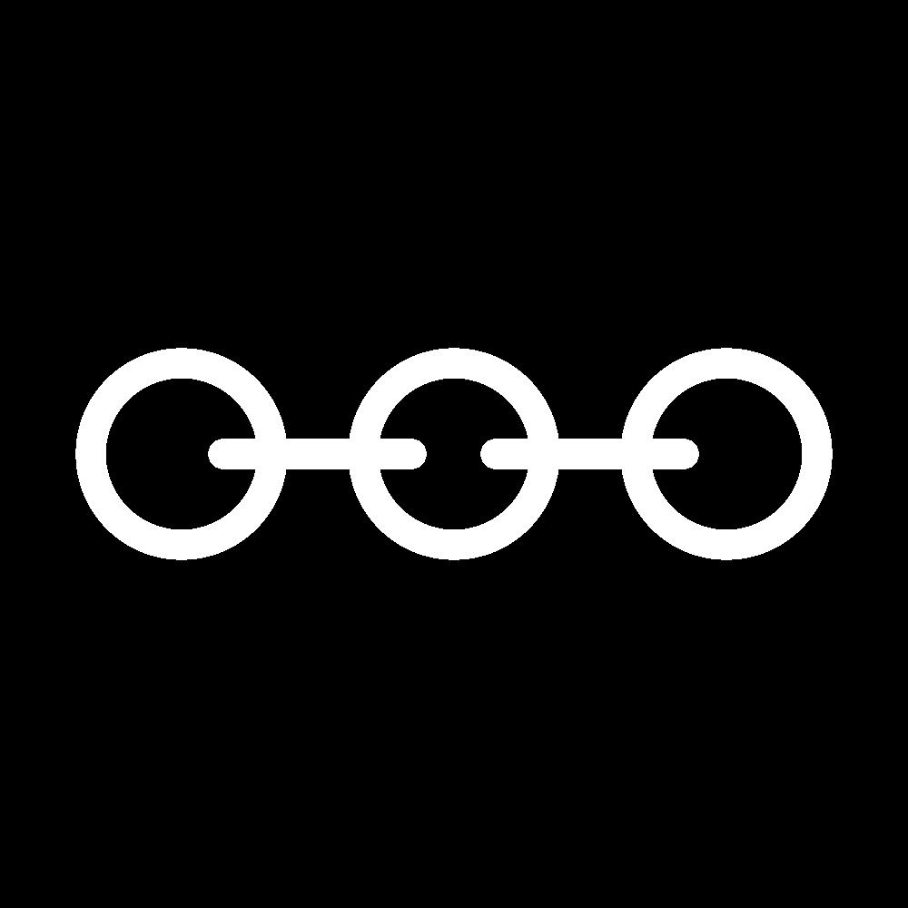 Cable chain stitch icon