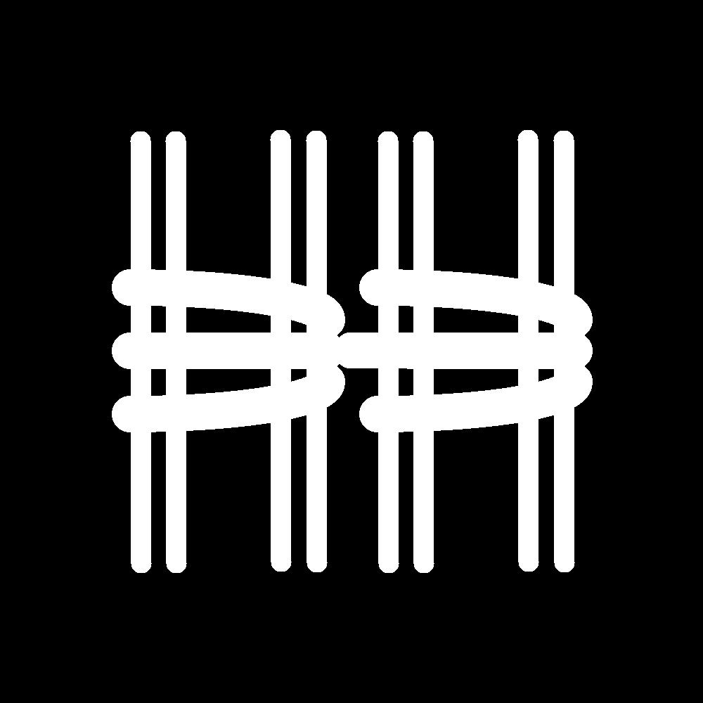 Chain stitch (drawn thread) icon