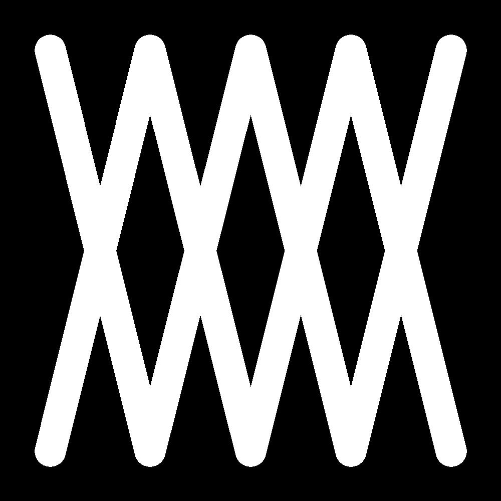Closed herringbone stitch icon