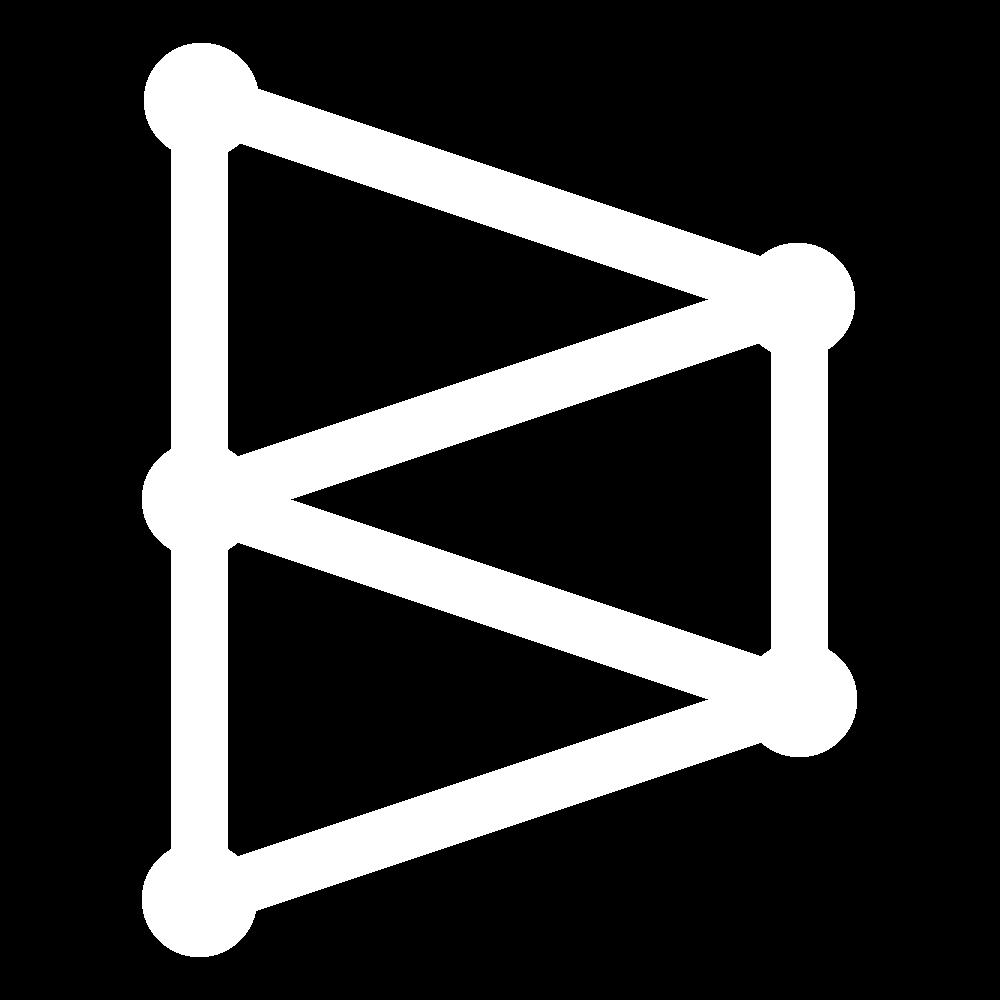 Crested chain stitch icon