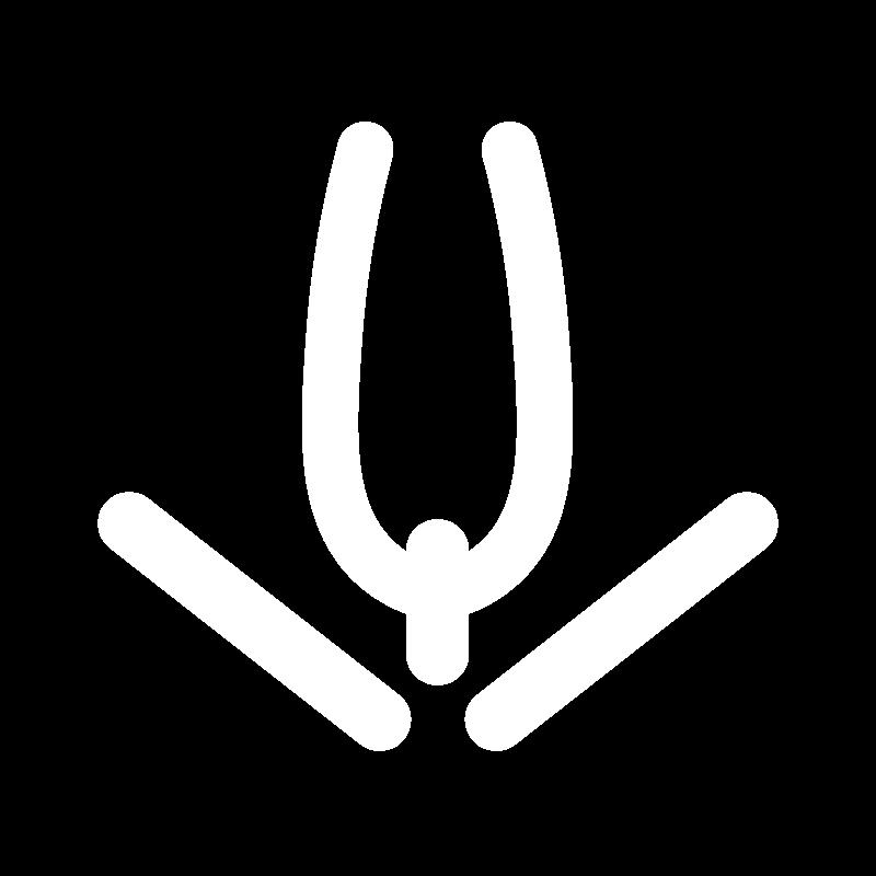 Detached wheatear stitch icon