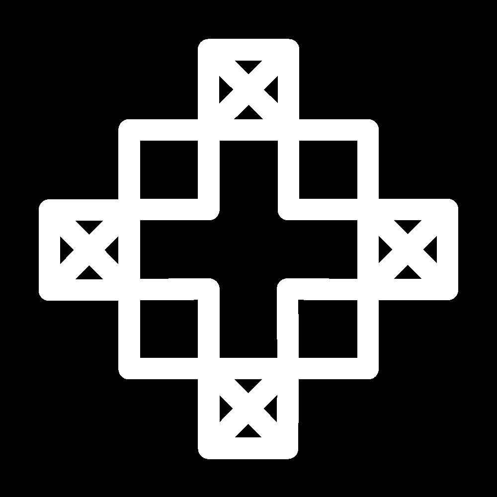 Diagonal trellis (pattern) icon