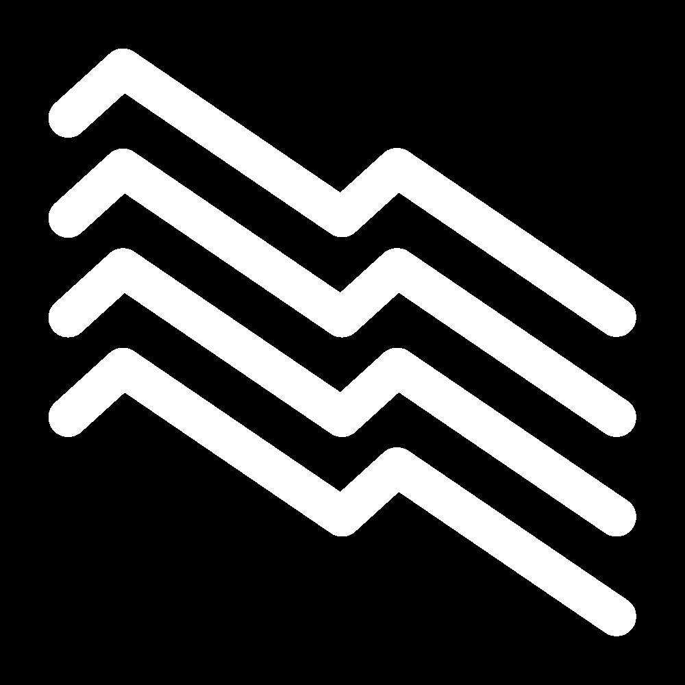 Diagonal wave (pattern) icon