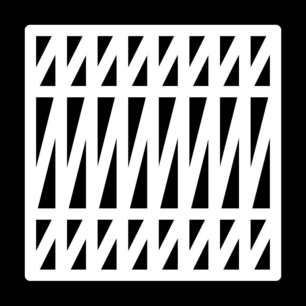 Diagonal weave (pattern) icon