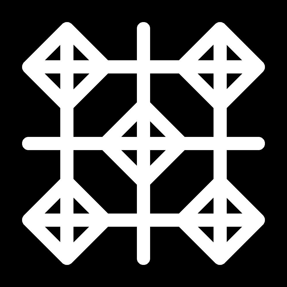 Diamond trellis (pattern) icon