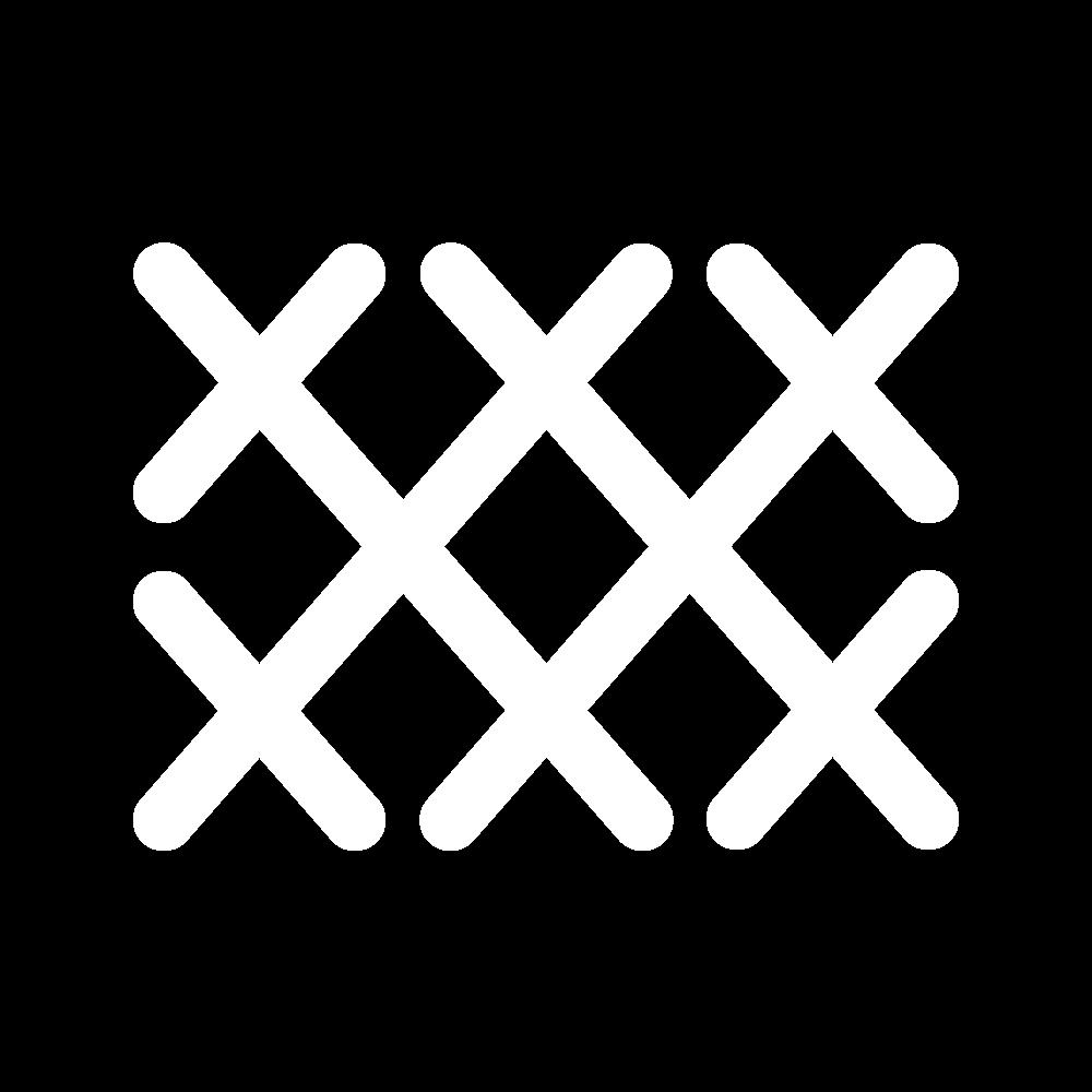 Double herringbone stitch icon