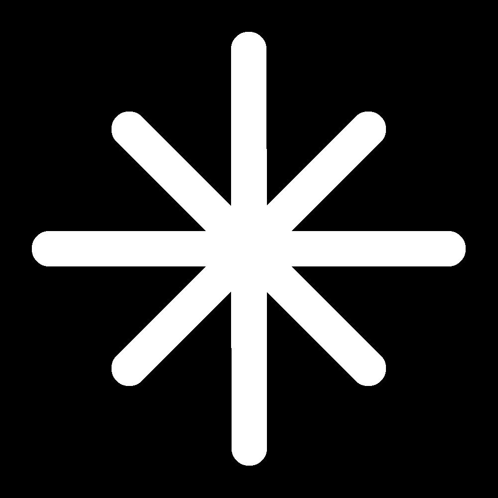 Double straight cross stitch icon