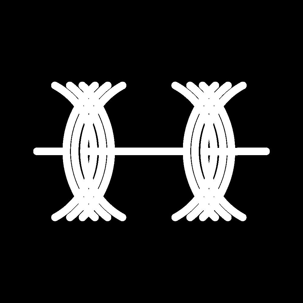 Double twist stitch icon