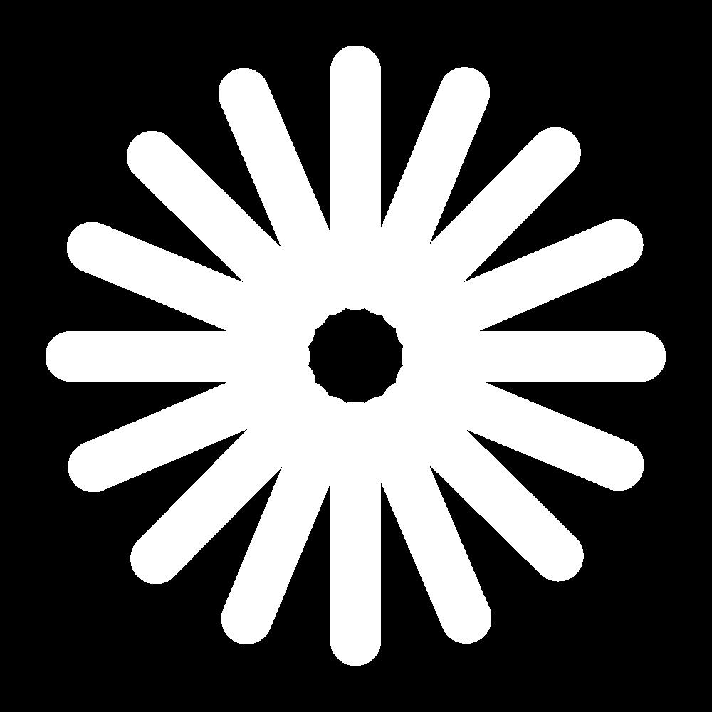 Eyelet hole stitch icon