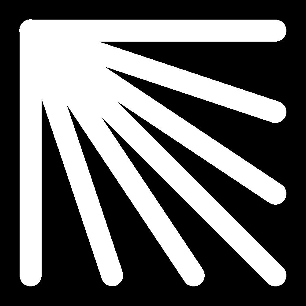 Fan stitch icon