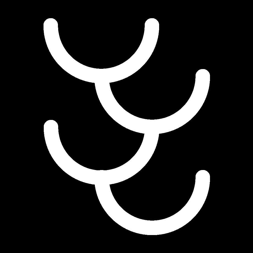 Feather stitch icon