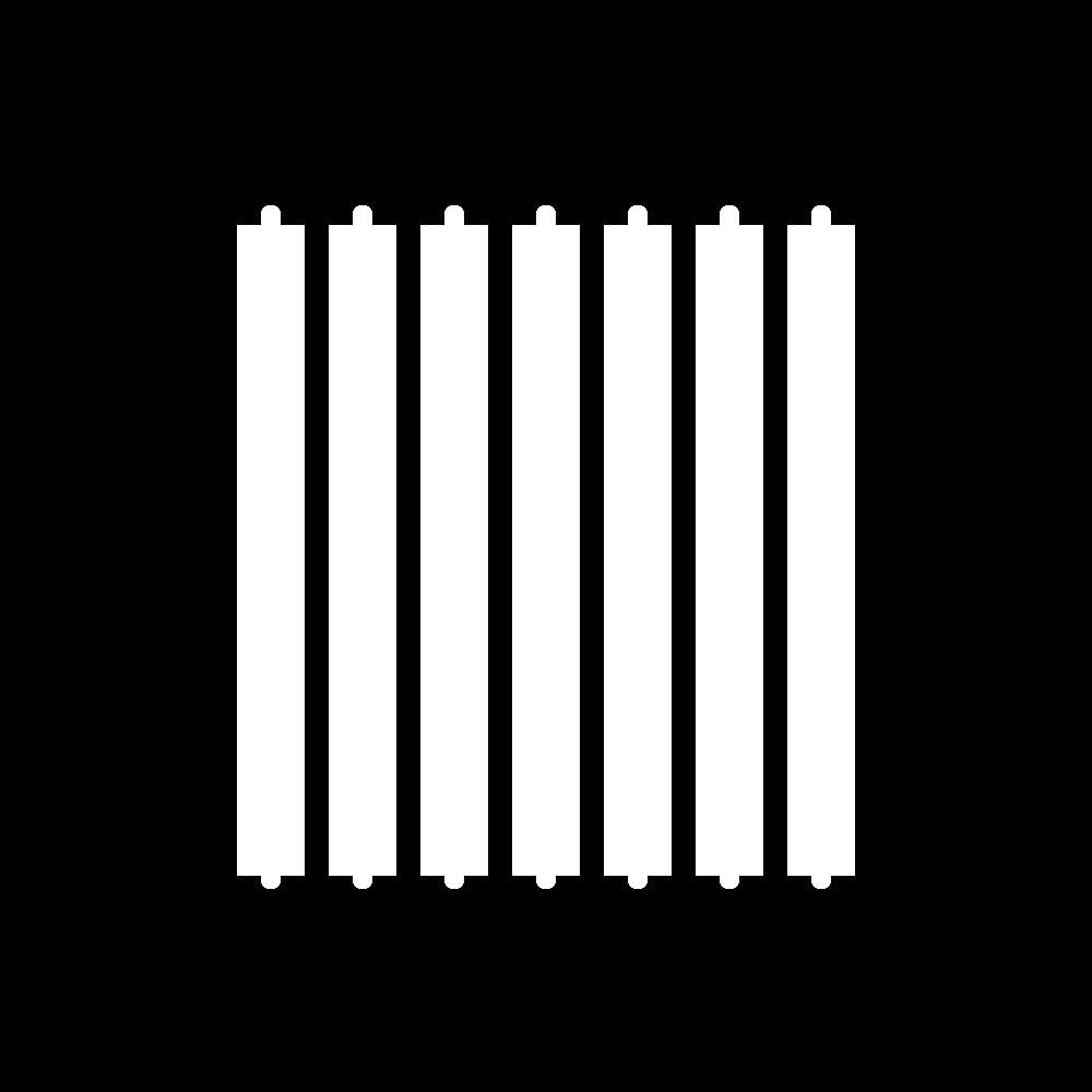 Flat cutwork (goldwork) icon