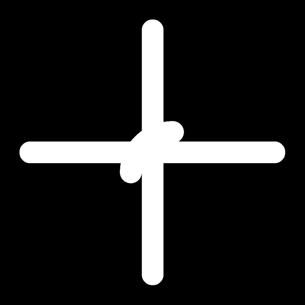 Four-legged knot stitch icon