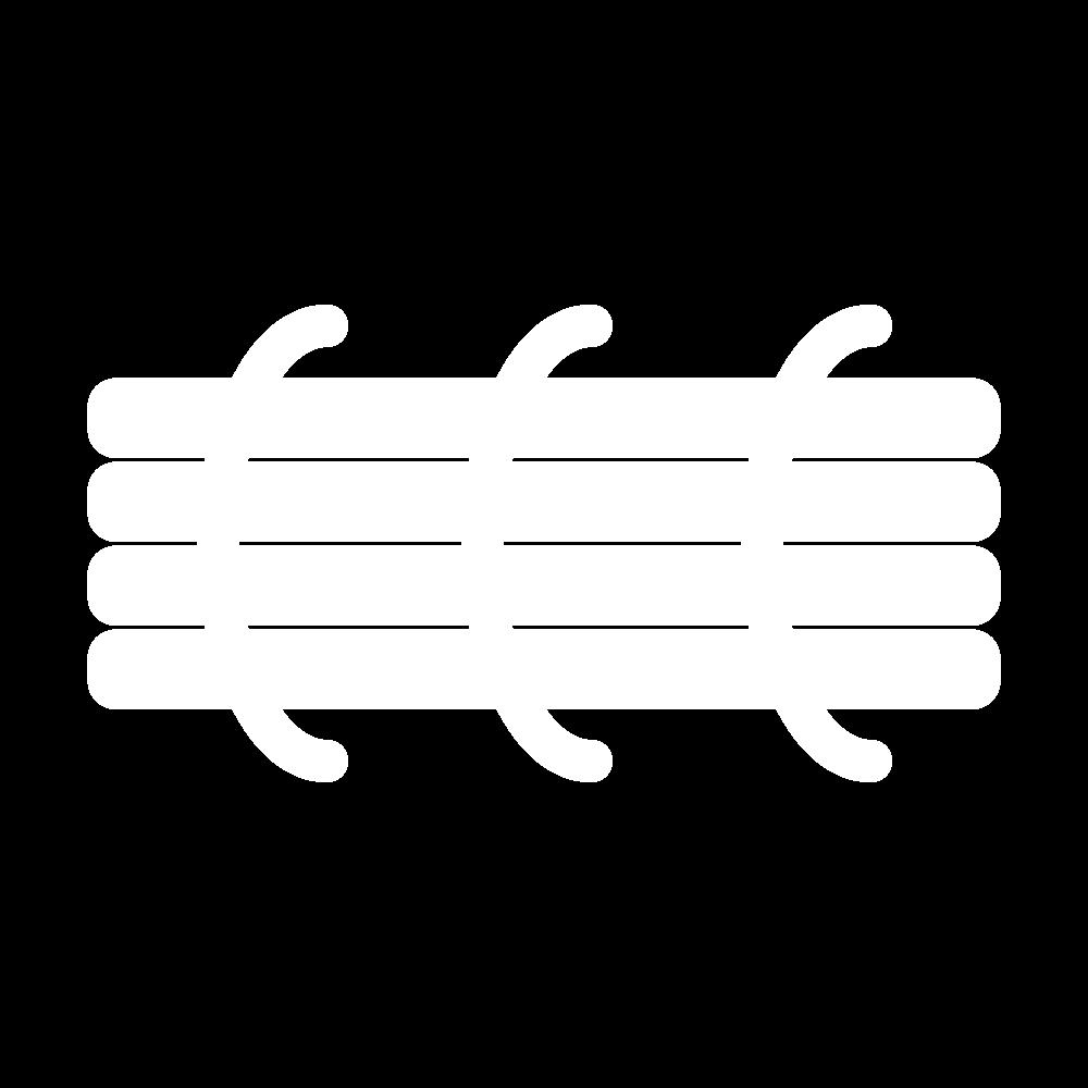 Hard string padding (goldwork) icon
