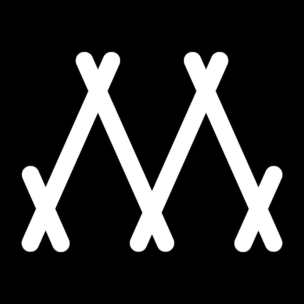 Herringbone stitch icon