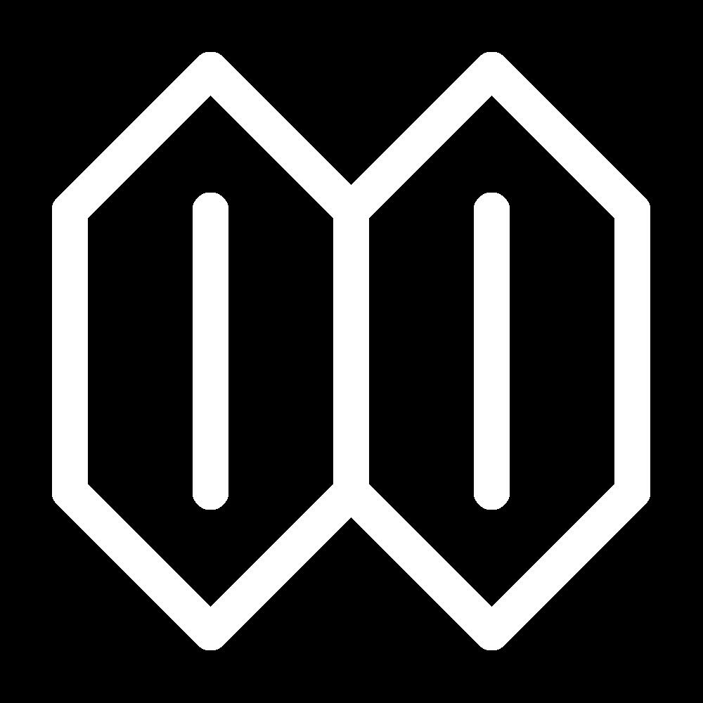 Hexagonal lozenge (pattern) icon