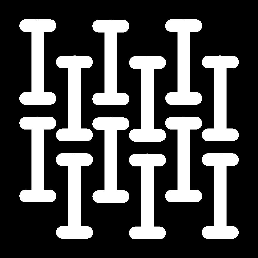 Interlocking I's (pattern) icon