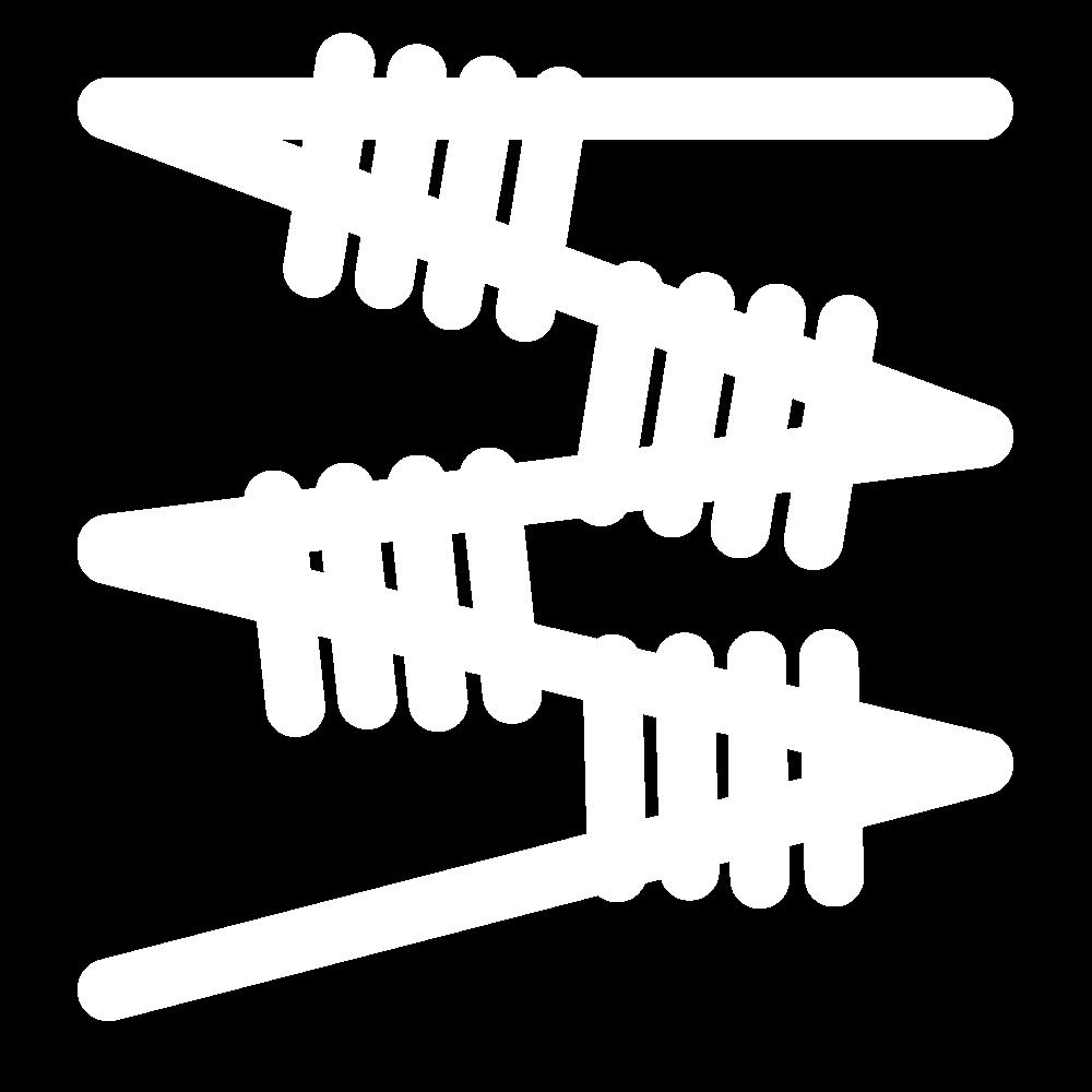 Italian buttonhole insertion stitch icon