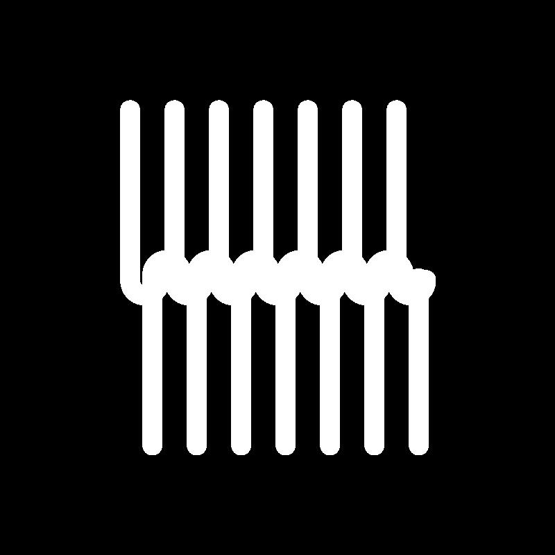 Loop stitch icon
