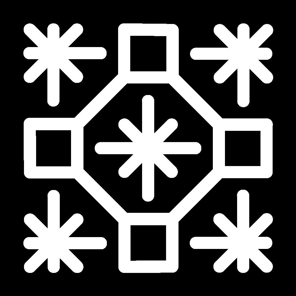 Octagon star (pattern) icon