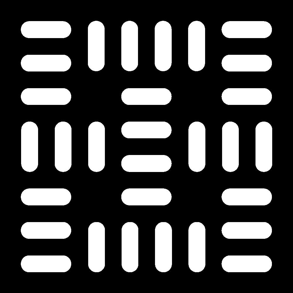 Open basket filling stitch icon