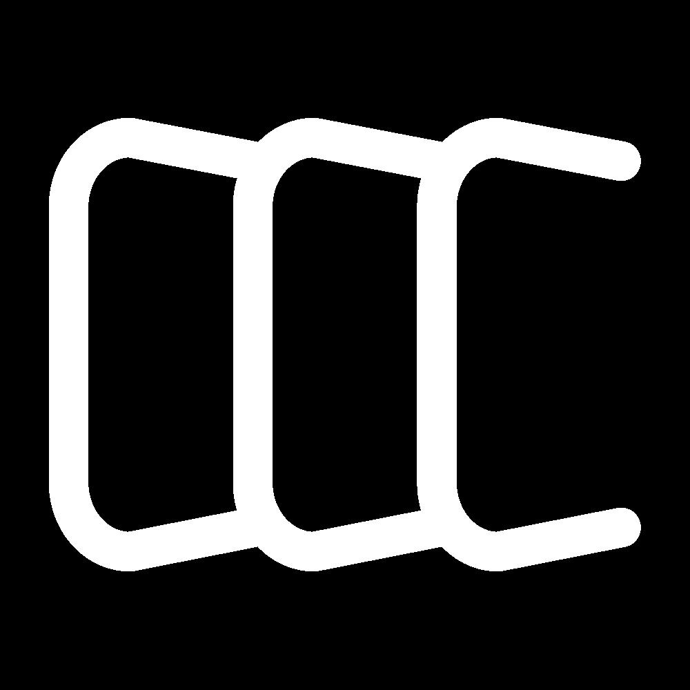 Open chain stitch icon