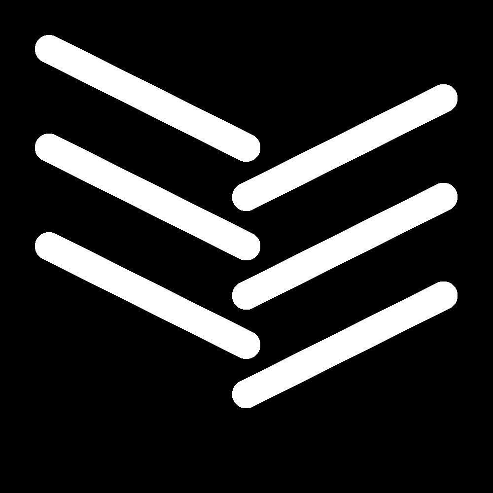 Open fishbone stitch icon