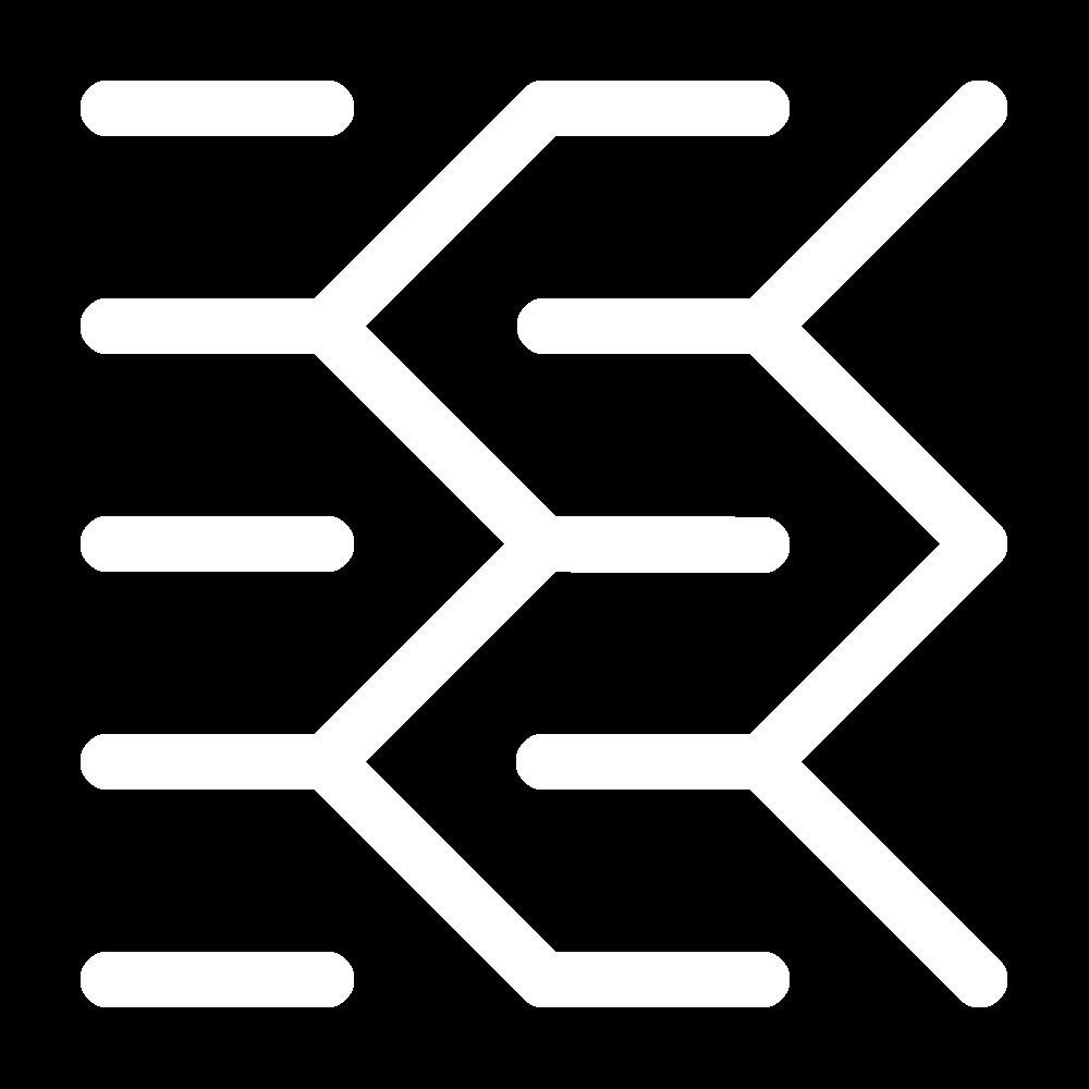 Open zigzag (pattern) icon