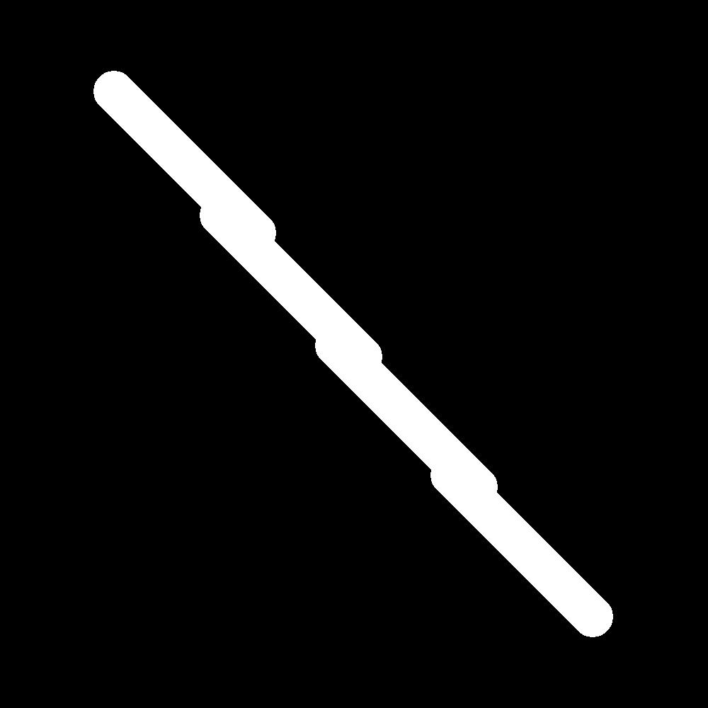 Outline stitch icon