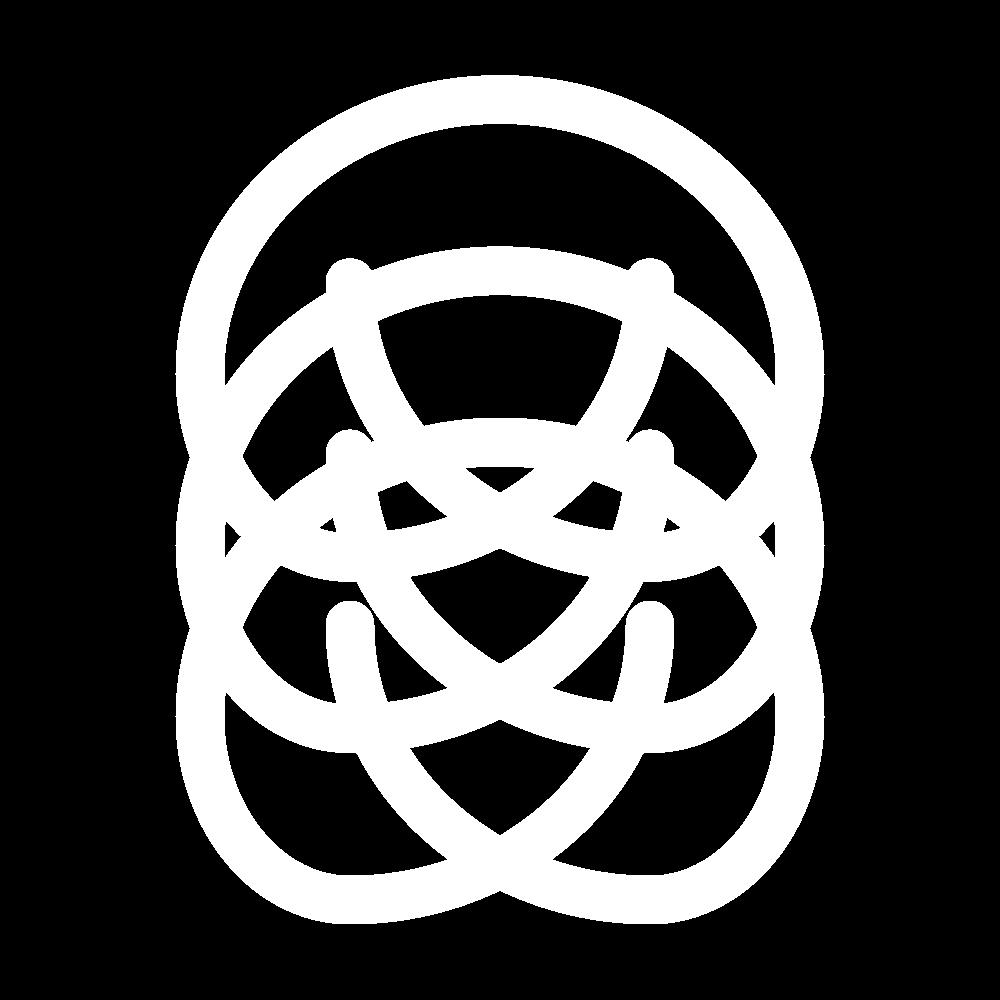 Plaited braid stitch icon