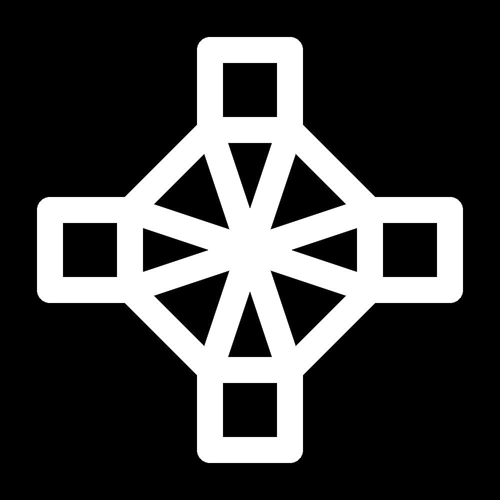Rounded eyelet (pattern) icon