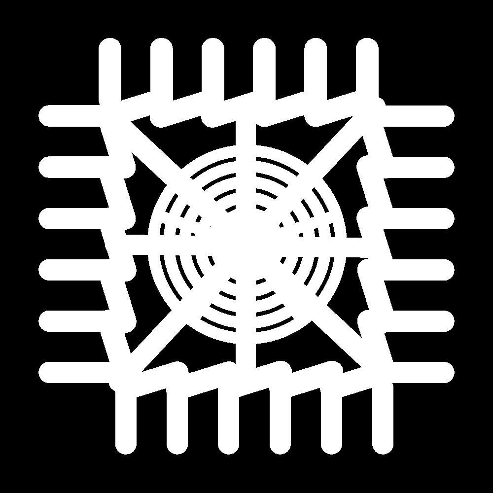 Woven wheel corner icon