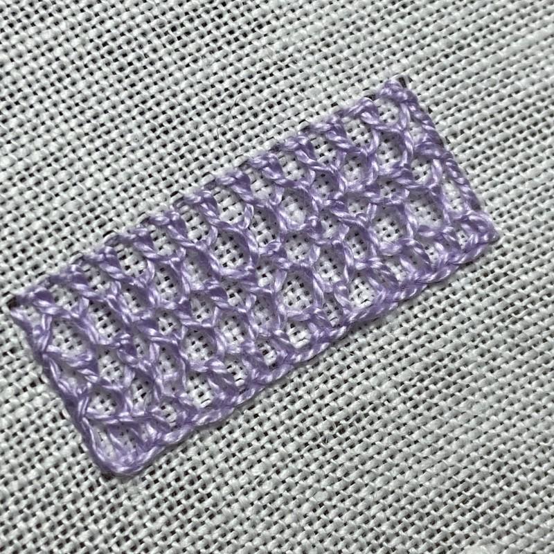 Single Brussels stitch main image