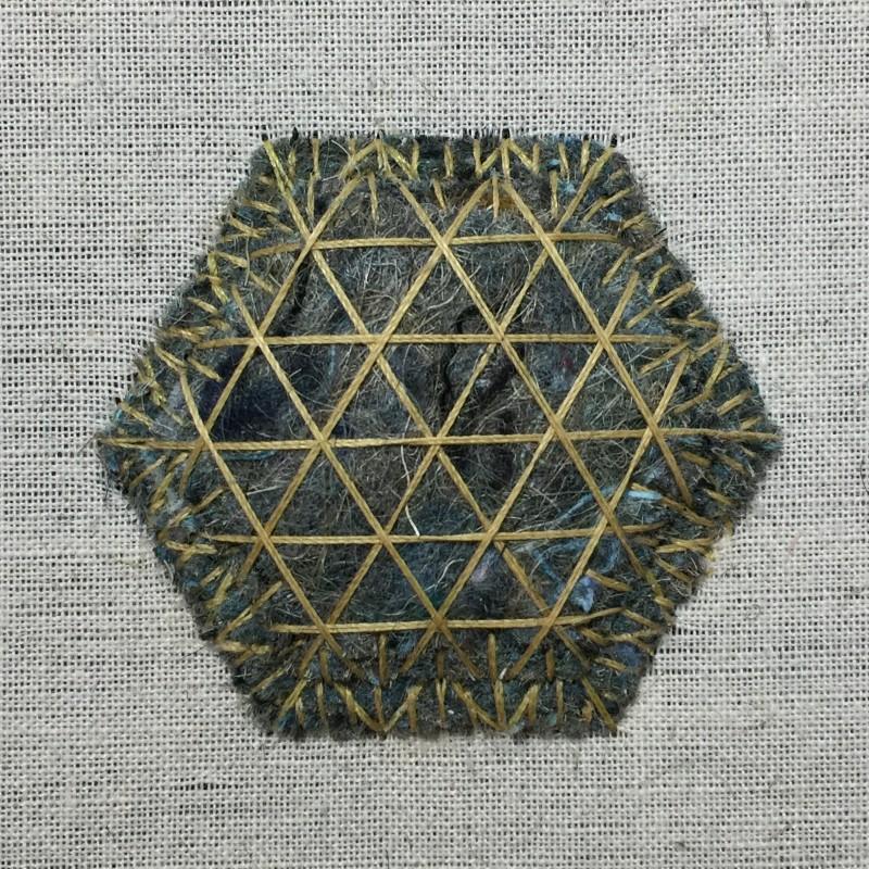 Carpet felt padding method stage 4 photograph