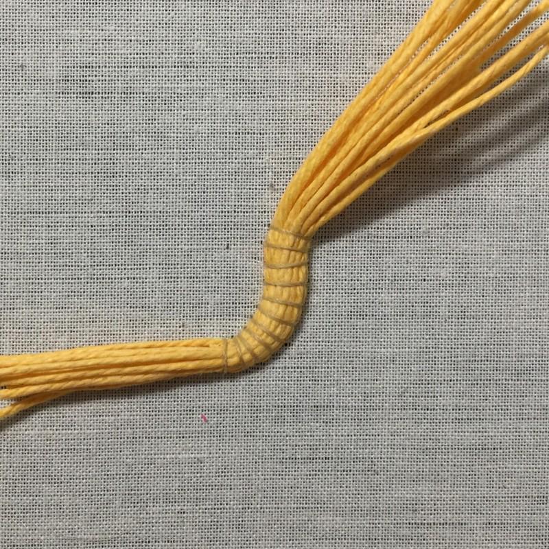 Soft string padding method stage 7 photograph