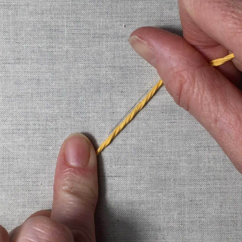 Soft string padding method stage 2 photograph