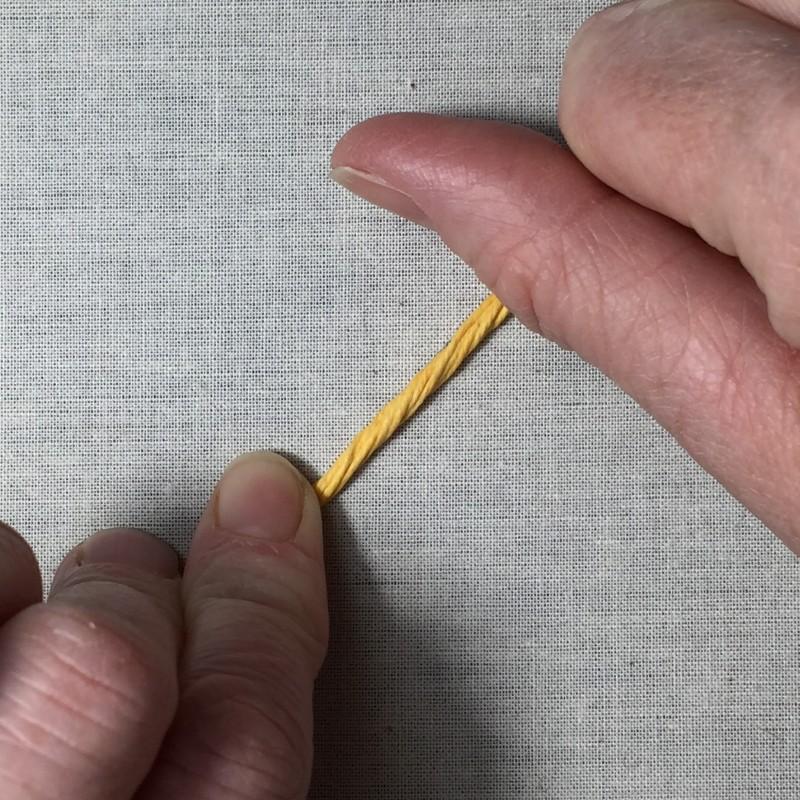 Soft string padding method stage 3 photograph