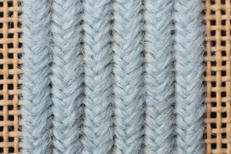 Fern stitch (canvaswork) method stage 4 photograph