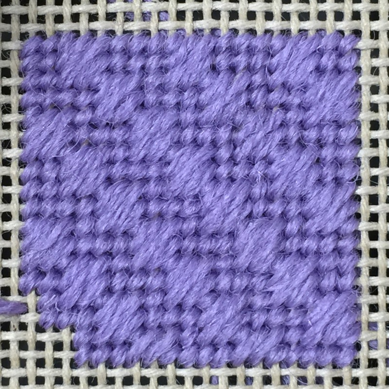 Moorish stitch method stage 5 photograph
