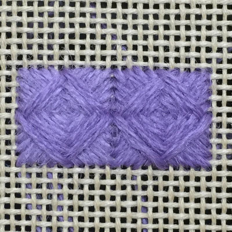 Norwich stitch method stage 4 photograph