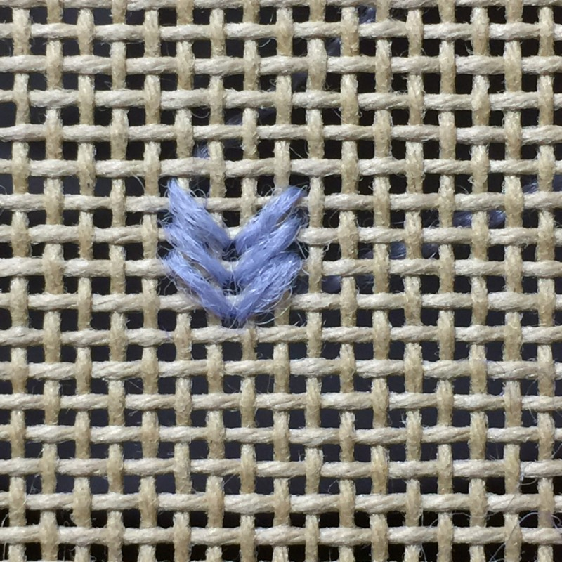 Perspective stitch variation method stage 2 photograph