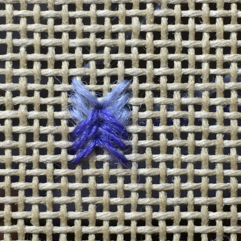 Perspective stitch variation method stage 3 photograph