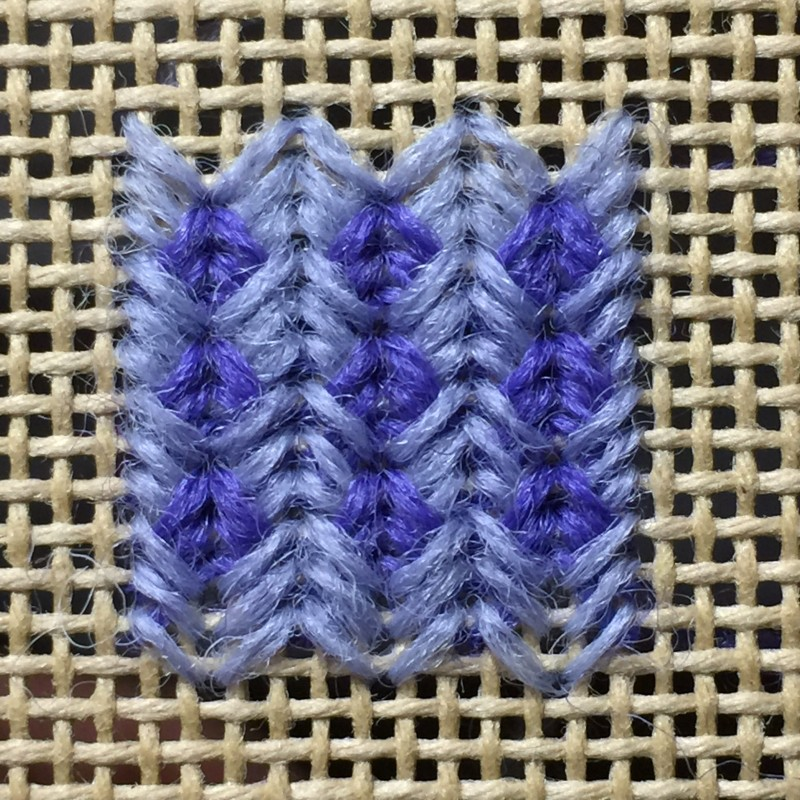 Perspective stitch variation method stage 5 photograph