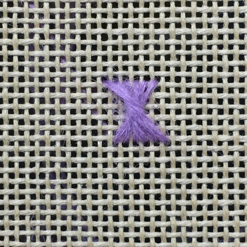 Rhodes stitch method stage 4 photograph