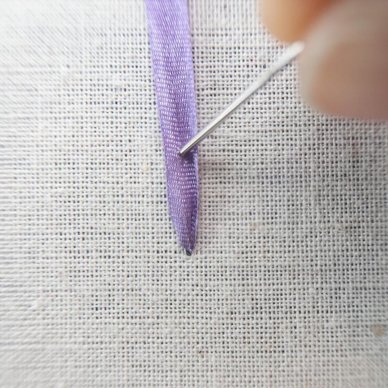 Straight stitch method stage 2 photograph